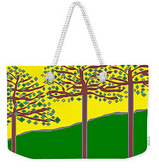 Summer Stained Glass 2 Weekender Tote Bag
