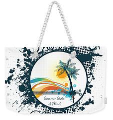 Summer State Of Mind Weekender Tote Bag