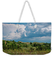 Summer Storm Over The Dunes Weekender Tote Bag