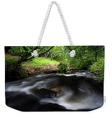 Summer Stream Weekender Tote Bag by Tim Nichols