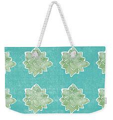 Summer Succulents- Art By Linda Woods Weekender Tote Bag
