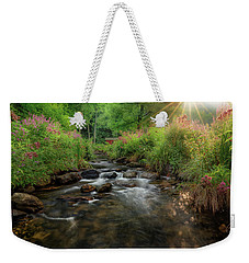 Weekender Tote Bag featuring the photograph Summer Sun 2018 by Bill Wakeley
