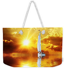 Summer Sun And Fun Weekender Tote Bag by Gabriella Weninger - David