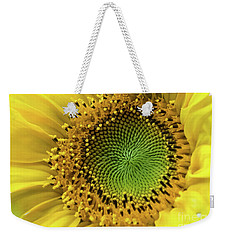 Summer Sunflower Weekender Tote Bag