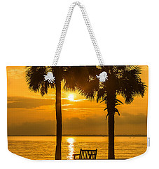 Summer Sunrise - Charleston Sc Weekender Tote Bag