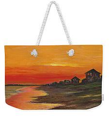 Summer Sunset At  Crystal Beach Weekender Tote Bag