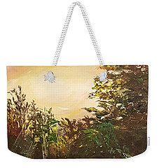 Summer Sunset Weekender Tote Bag