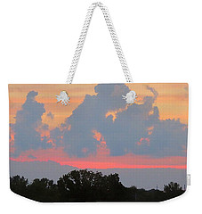 Summer Sunset In Missouri Weekender Tote Bag by Robin Regan