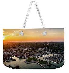 Summer Sunset In The Sky Weekender Tote Bag