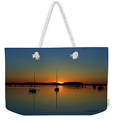 Summer Sunset Monument Beach Weekender Tote Bag