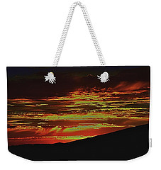 Summer Sunset Rain Weekender Tote Bag