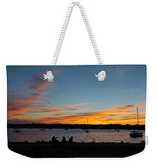 Summer Sunset With Friends Weekender Tote Bag