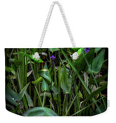 Weekender Tote Bag featuring the photograph Summer Swamp 2017 by Bill Wakeley