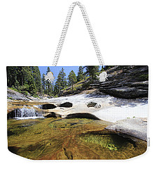 Weekender Tote Bag featuring the photograph Summer Swimming Hole by Sean Sarsfield