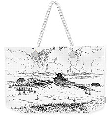 Summer Thunderheads Weekender Tote Bag