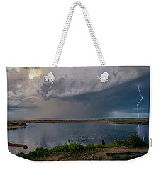 Summer Thunderstorm Weekender Tote Bag