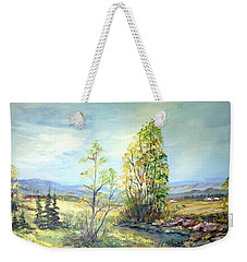 Summer Time Weekender Tote Bag by Dorothy Maier