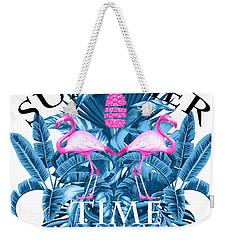 Summer Time Tropical  Weekender Tote Bag
