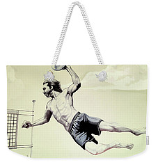 Summer Time Volley Ball Weekender Tote Bag