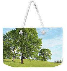 Weekender Tote Bag featuring the photograph Summer Trees by Melinda Blackman