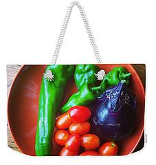 Summer Vegetables Weekender Tote Bag by Hamamura86