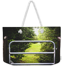 Weekender Tote Bag featuring the photograph Summer Vibes On The Farm by Shelby Young