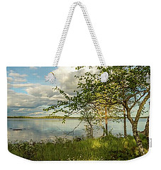 Weekender Tote Bag featuring the photograph Summer View by Rose-Marie Karlsen