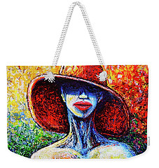 Weekender Tote Bag featuring the painting Summer by Viktor Lazarev