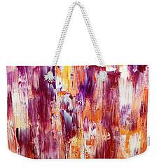 Summer Waterfall Abstract Weekender Tote Bag