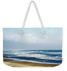 Summer Waves Netarts Oregon Weekender Tote Bag