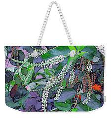 Summer White Weekender Tote Bag by Kathie Chicoine
