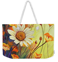 Summer Wild Flowers Weekender Tote Bag