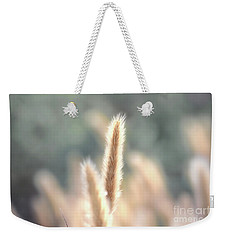 Summer Wild Grass Weekender Tote Bag