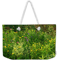 Summer Wildflowers Weekender Tote Bag