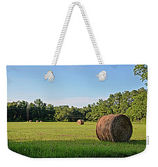 Weekender Tote Bag featuring the photograph Summer's Bounty by Linda Brown