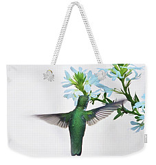Weekender Tote Bag featuring the photograph Summer's Bounty by Sue Collura