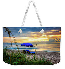 Weekender Tote Bag featuring the photograph Summer's Calling by Debra and Dave Vanderlaan