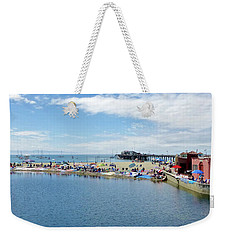 Summers End Capitola Beach Weekender Tote Bag