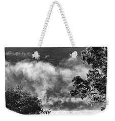Weekender Tote Bag featuring the photograph Summer's Leaving by Steven Huszar