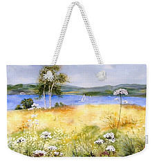 Summertime Birches Weekender Tote Bag