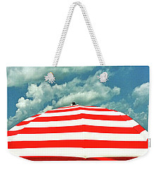 Weekender Tote Bag featuring the photograph Summertime Dream by Deborah Smith