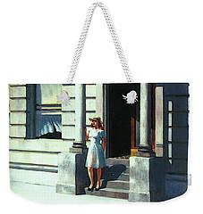Summertime  Weekender Tote Bag by Edward Hopper