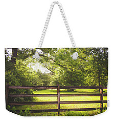 Weekender Tote Bag featuring the photograph Summertime Sunshine by Shelby Young