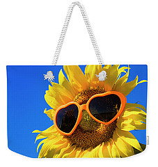 Summertime Weekender Tote Bag by Teri Virbickis