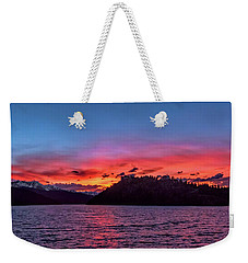 Summit Cove And Summerwood Sunset Weekender Tote Bag