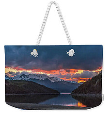 Summit Cove June Sunset Weekender Tote Bag