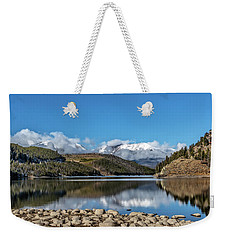 Summit Cove November Snow Weekender Tote Bag