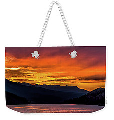 Summit Cove Sunset At Lake Dillon Weekender Tote Bag