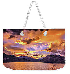 Summit Cove Sunset At Summerwood Weekender Tote Bag