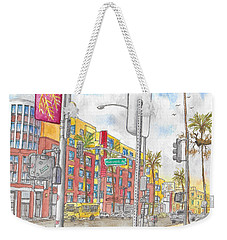 Sunset Blvd, And Hayworth, West Hollywood Weekender Tote Bag